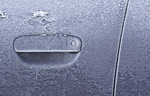 frozen car lock